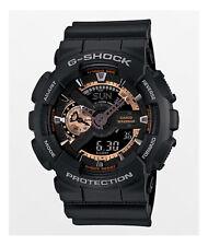 Casio GA-110RG-1A G-Shock Black Dial Resin Men's Watch