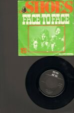 """SHOES Face to Face SINGLE 7"""" No One Knows NEGRAM 1974 NEDERPOP"""