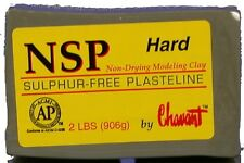 Chavant NSP Non-Drying Modeling Clay-Hard-Green-sculpting modeling