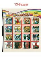 488 IN 1 Games Card Cartridge Multicart For Nintendo DS NDSL 3DS 2DS with Case