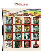 Cartucho De Tarjetas 488 en 1 Juegos multicart para Nintendo DS NDSL 3DS 2DS Con Estuche
