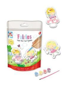 Mould & Paint Fairy Plaster of Paris Kit - Fairies Craft Kit for Children