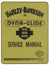 1991-1992 Harley Dyna FXD Service Repair Shop Workshop Manual Book 99481-92