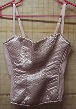 Native Intimates Brand Women's Pink Loungewear Madonna Bustier Top size 34C