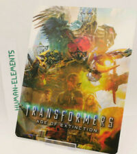 TRANSFORMERS AGE OF EXTINCTION - Lenticular 3D Flip Magnet Cover FOR steelbook