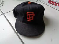 Giants Game Worn New Era PRO Model Size 7 Baseball Cap Hat # 5 Written With Star