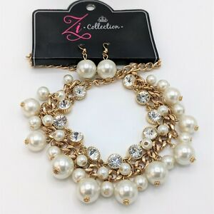 Stunning Zi Collection Idolize Necklace and Earrings Paparazzi Set NWT Retired