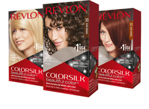 REVLON Colorsilk Beautiful Color Permanent Hair Color New - Choose Your Shade