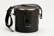 Yashica Objektivköcher lens case Schwarz für Auto Yashinon DX 1:2.8 35mm M42