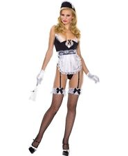 Sexy French Maid Suit Music Legs