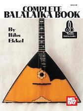 MEL BAY'S COMPLETE BALALAIKA INSTRUCTION LESSON BOOK NEW