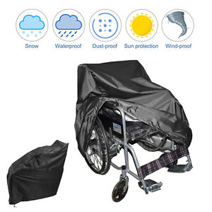 Waterproof Wheelchair Cover Storage Cover Rain Protection Wheelchair Cover