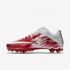 New listing New Nike Vapor Speed 2 Football/Lacrosse LAX Cleats Red / White Size 10 M