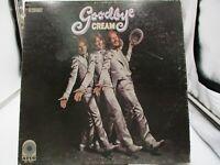 "Cream ""Goodbye"" Vinyl LP ATCO Records SD 7001 Yellow Label 1969 Gatefold VG c VG"