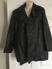 French Connection Leather Jacket Size S