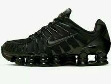 Nike Shox TL Men's Trainers BRAND NEW Sizes UK 8, 9, 10, 11 Triple Black