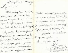* GIUSEPPE VERDI - Feste I° Centenario 1913 - A Muzzio Luigia 1890 Doppia
