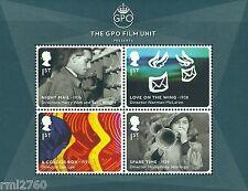 2014 GREAT BRITISH FILMS - Mini Sheet Mint - GPO Film Unit SG MS3608