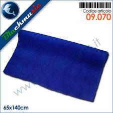 Moquette acustica adesiva blu cobalto 65x140cm per interni, subwoofer e pianali