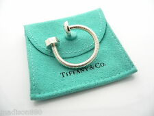 Key Ring Key Chain Keychain Rare Excellent Tiffany & Co Silver Not & Bolt Screw