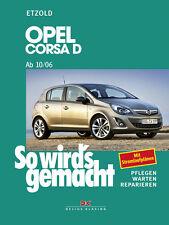 Reparaturanleitung Opel Corsa D 2006-2014 Werkstatthandbuch So wirds gemacht 145