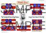 28mm Acw Kriegsspiel Flaggen von Battle Flag. Hood's Texas Brigade