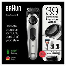 Braun BT5260 Mens Beard Trimmer, Hair Clipper & Fusion Razor, 39 Length Settings