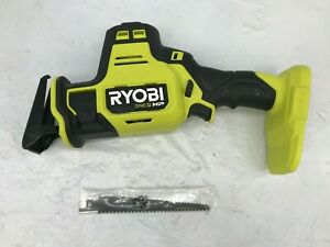 Ryobi 18V Compact Brushless One-Handed Recip Saw PSBRS01B(TOOL ONLY) GR