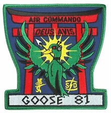 USAF 1st SOS SPECIAL OPERATIONS SQUADRON GOOSE-81 PATCH
