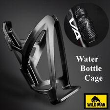 WILD MAN Bicycle Water Bottle Cage Rack Road Bike Carbon Fiber Bottle Holder
