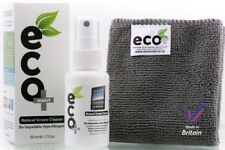 Ecomoist Natural Screen Cleaner 50ml with Fine Microfiber Towel