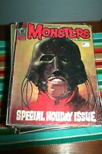 FAMOUS MONSTERS MAGAZINE #123 IN GOOD CONDITION! BAGGED AND BOARDED!
