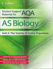Student Support Materials for AQA - AS Biology Unit 2: The Variety of Living Org