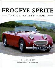 FROGEYE SPRITE AUSTIN HEALEY BUGEYE BOOK COMPLETE STORY BAGGOTT