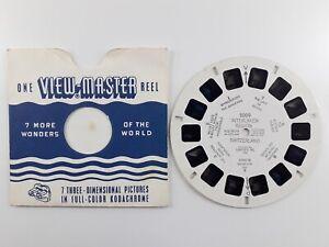 Interlaken Region - Switzerland - Vintage View-Master Single Reel Number 2009