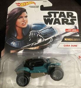 2021 Hot Wheels Star Wars Character Cars Cara Dune The Mandalorian