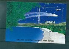 ESPACE - HALLEY'S COMET GRENADA 1986 block