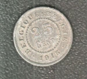 BELGIUM 25  CENTIMES 1915