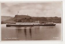 T.S. King George V Shipping Rp Postcard, Us006