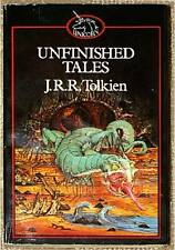 UNFINISHED TALES of MIDDLE EARTH ~ JRR Tolkien ~ GARLAND COVER! ~UK ED ~ SC