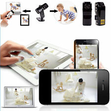 For Android iPhone PC Mini Wifi IP Wireless Surveillance Camera Remote Cam CJ