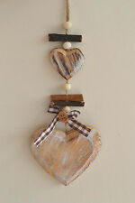 CLEARANCE VALENTINE GIFT wooden shabby chic heart hanger home wedding decoration