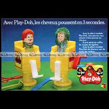 PLAY-DOH 'LE COIFFEUR' Miro-Meccano 1981 : Pub Publicité Papier ADVERT #B484