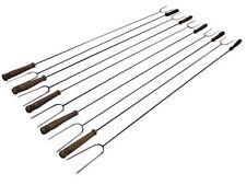 12x XXL pincho fuego de campamento fuego acero pincho cubiertos para parrilla 1m/120cm nuevo!
