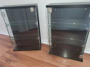 Glass Wall Hanging Cabinet Display