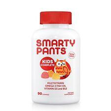 SmartyPants Kids Complete Gummy Vitamins: Multivitamin & Omega 3 Fish Oil