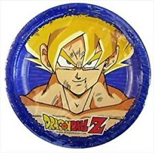 Dragonball Z Small Paper Plates (8ct) --BRAND NEW