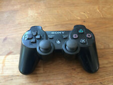 Playstation PS3 Official Genuine Controller Black