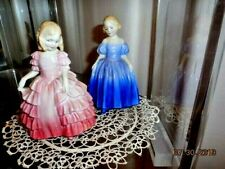 """Two Royal Doulton Ladies, 5"""" Tall Figurines"""