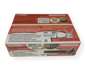 Magnavox TB100MG9 DTV Digital to Analog TV Converter Box w/Remote NIB SEALED. O